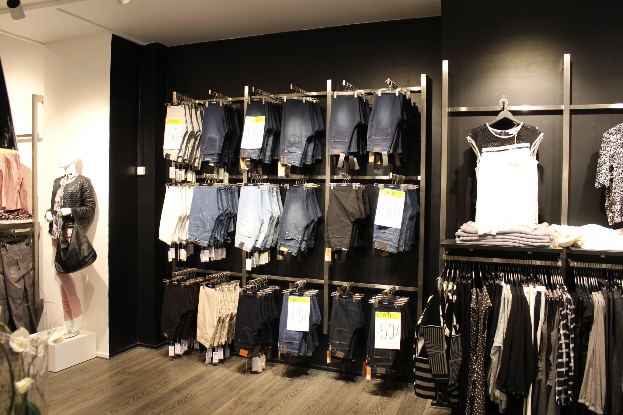 Jeans afdeling med stor fleksibilitet
