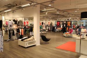 Konceptbutik indrettet med butiksindretning fra butiksinventar systemet FIRST