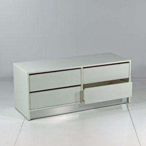 Depotreol / Opbevarings module som kan indrettes på flere måder
