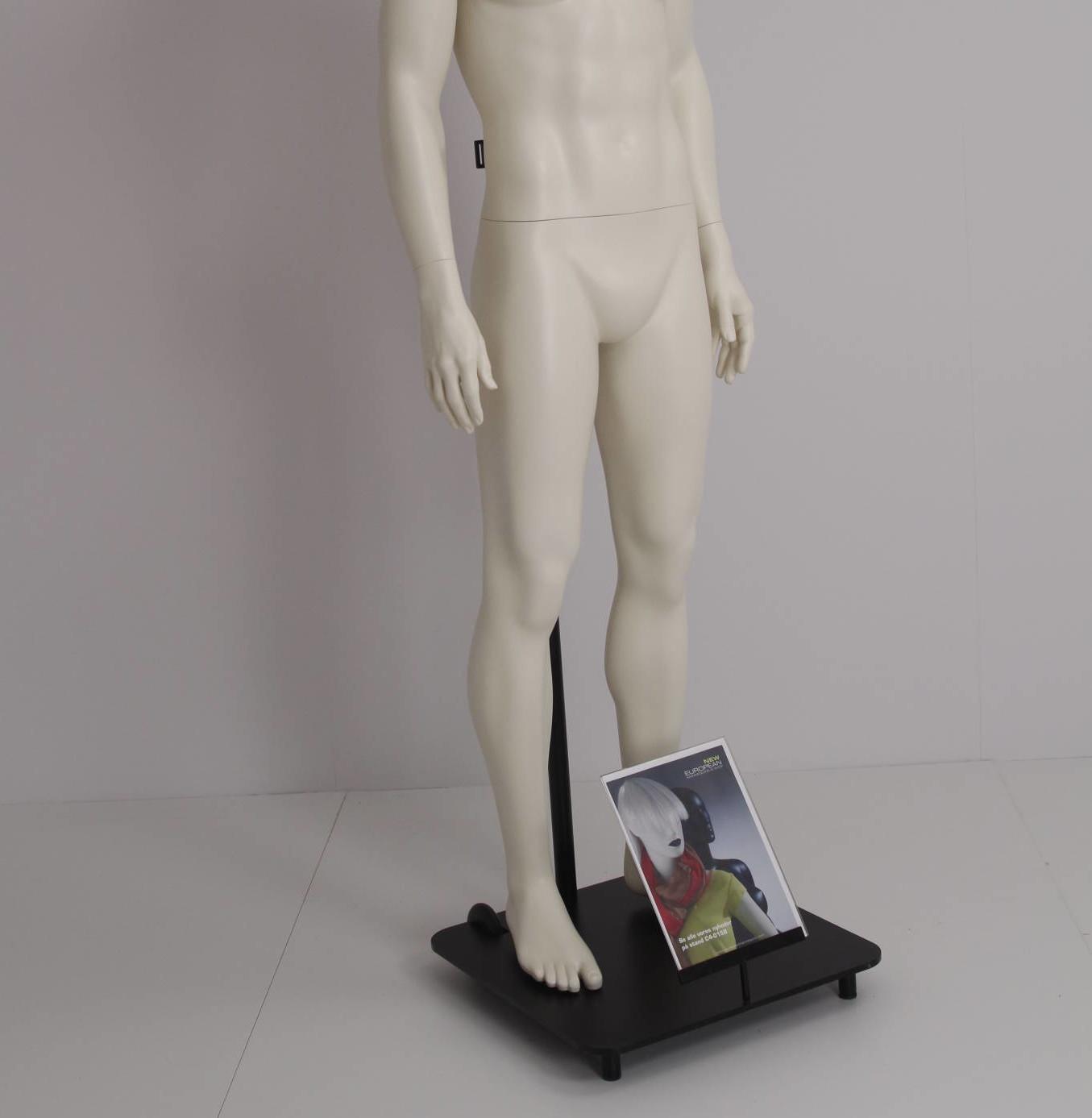 Gadestativ til mannequin / stativet kan bruges til at flytte butikkens udstilling ud på gaden