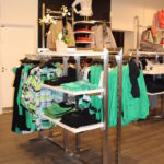 Butiksinventar. Flot og fleksibelt stativ