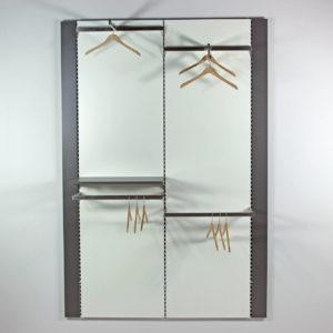 Butiks indretning med meget stor fleksibilitet hvor prisen er billig og hvor kvaliteten er høj. Butiksinventar
