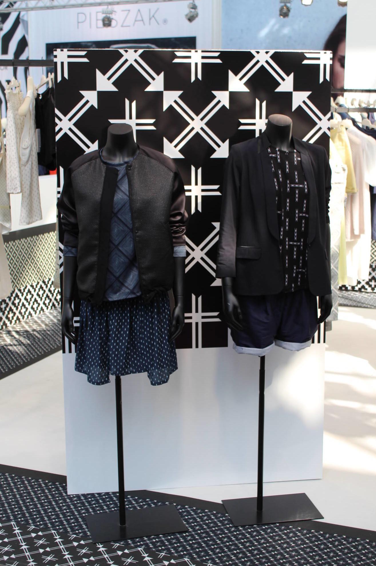 Torsoer anvendt på modemessen i København, alle farver kan tilbydes.