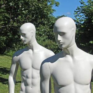 Christian - männliche Schaufensterfigure.4 verschiedene Positionen. Größe 52. Auch in vielen anderen Farben erhältlich. European Mannequins & Retail