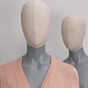 Abstrakte Schaufensterpuppen - Vintage-Kopf
