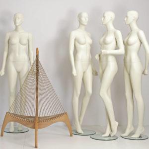 Stilistisk design mannequin till modebutik