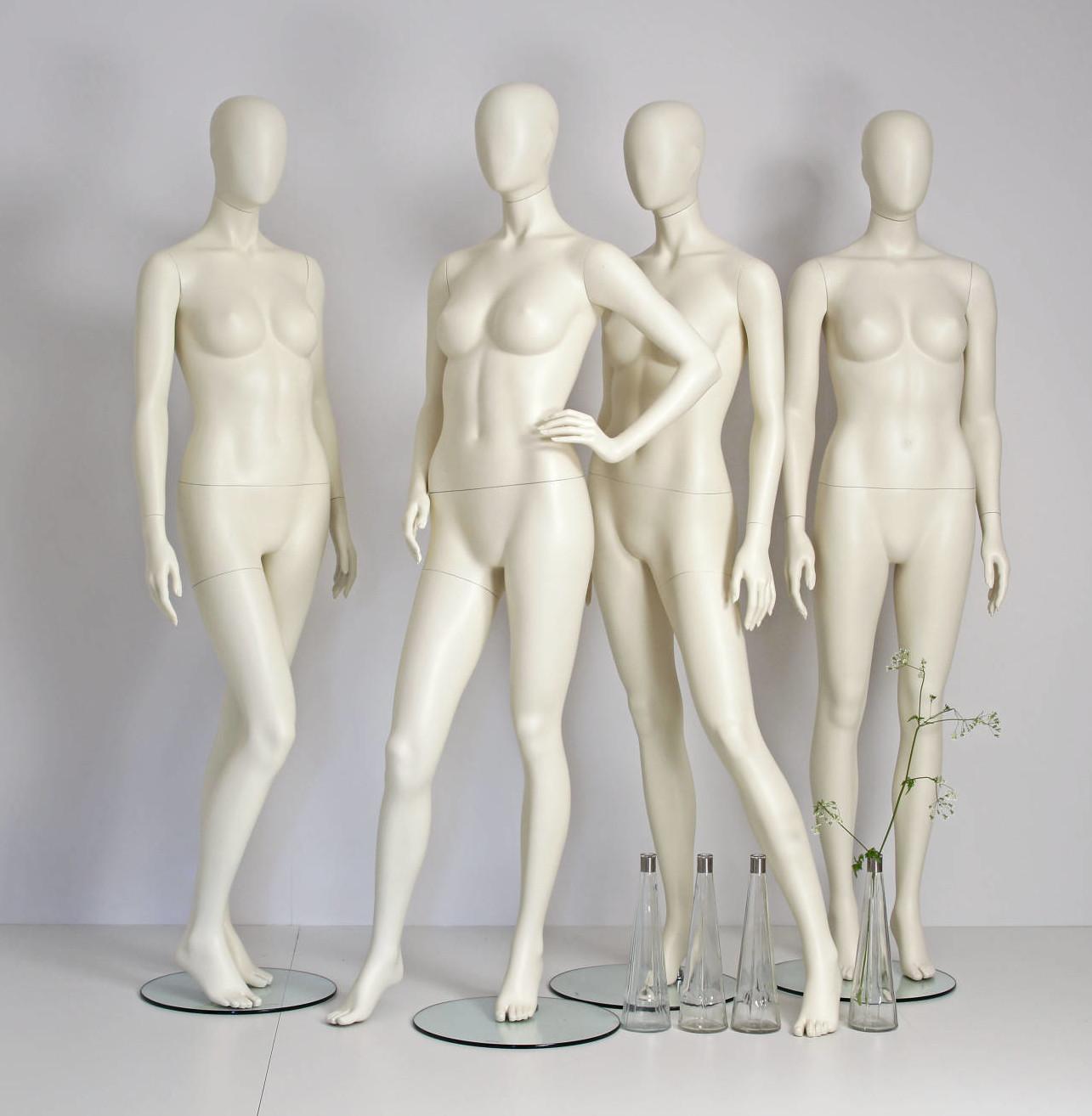 moon mannequin som leveres i mange forskellige positioner og farver
