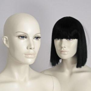 Super moderne dame mannequiner med make-up