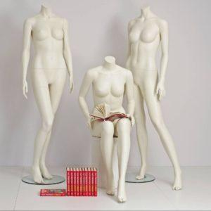 Mannequin dame i tidsløst design