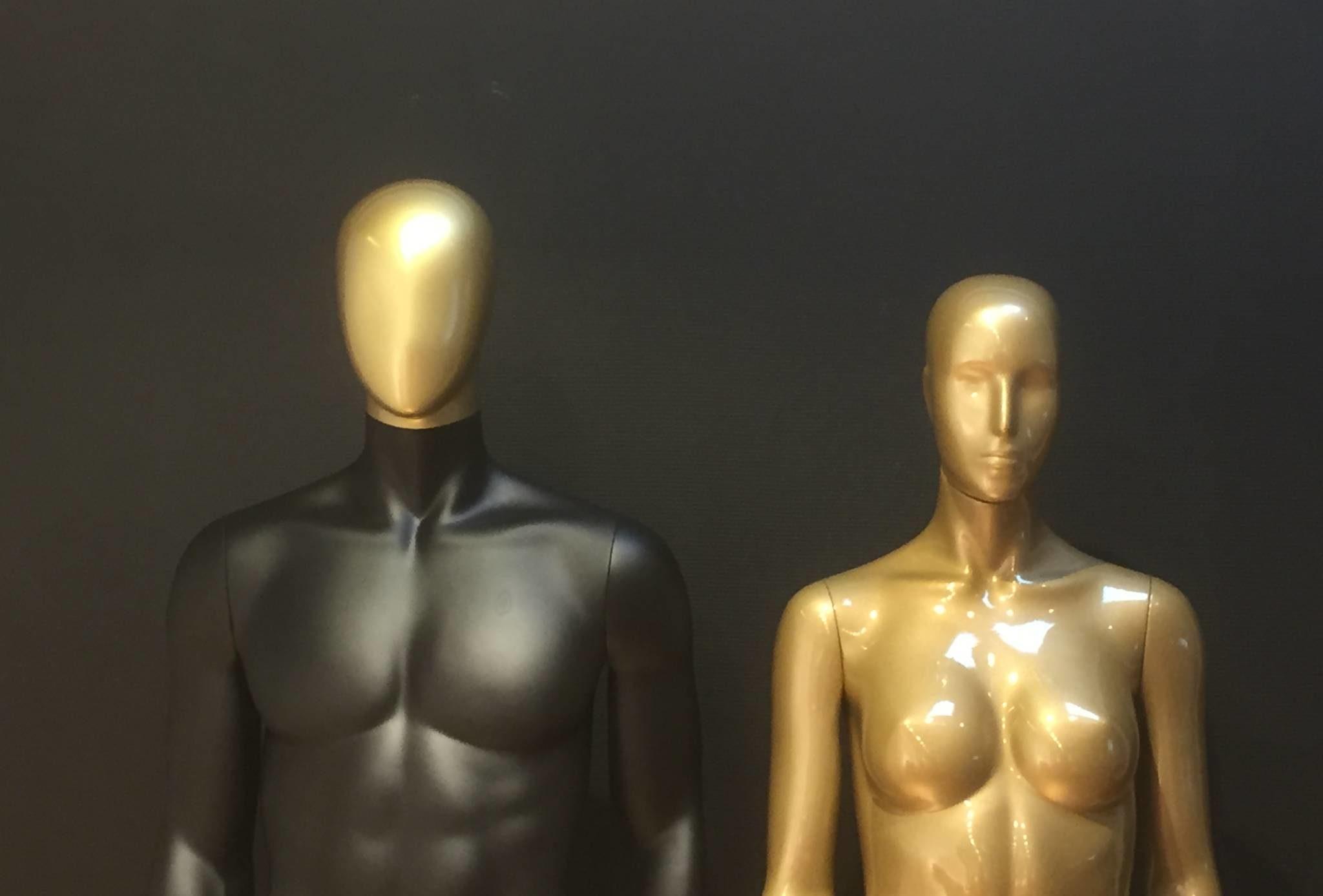 Guld mannequiner