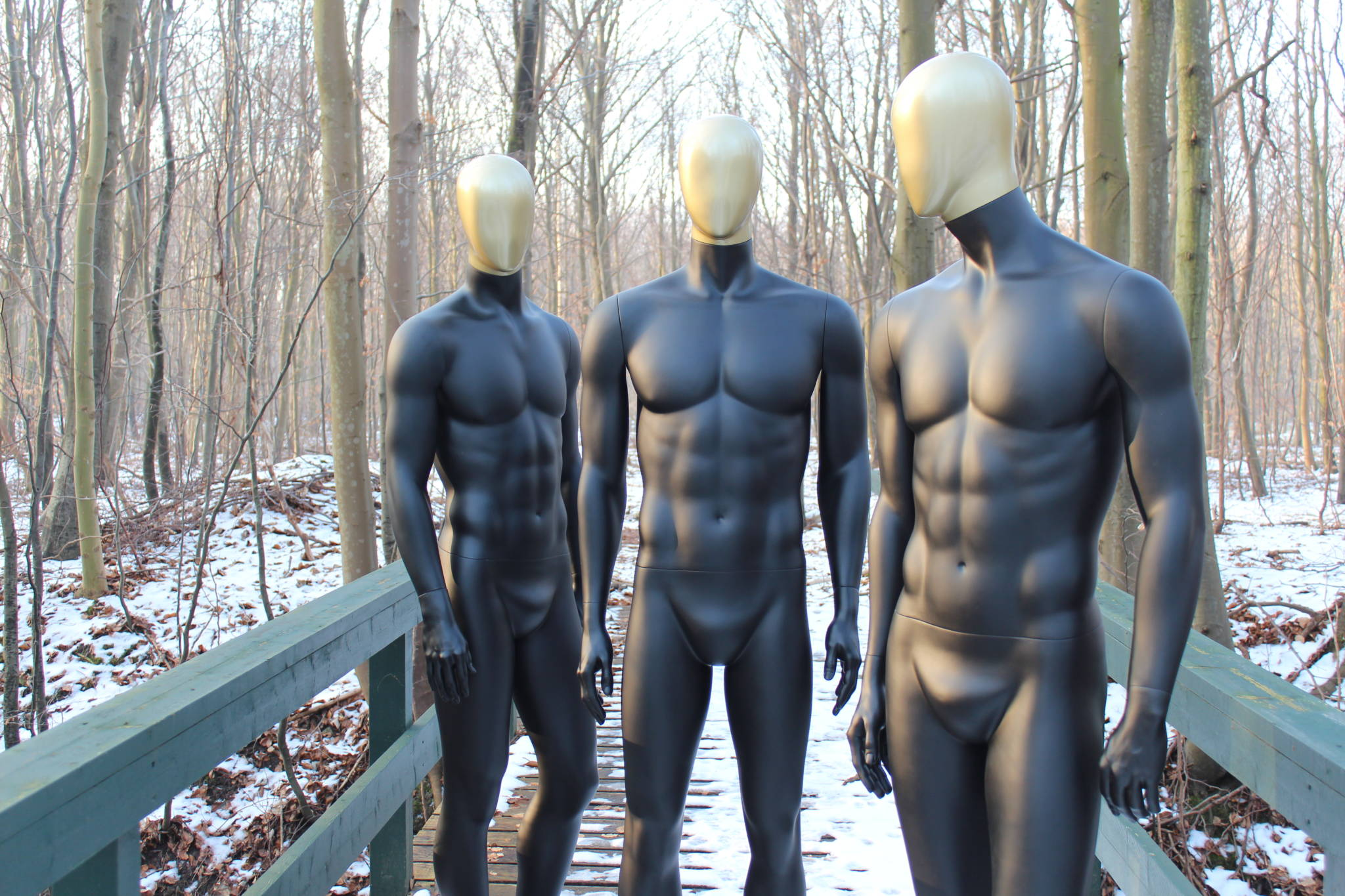 Guld mannequin serie, kan også leveres helt i guld