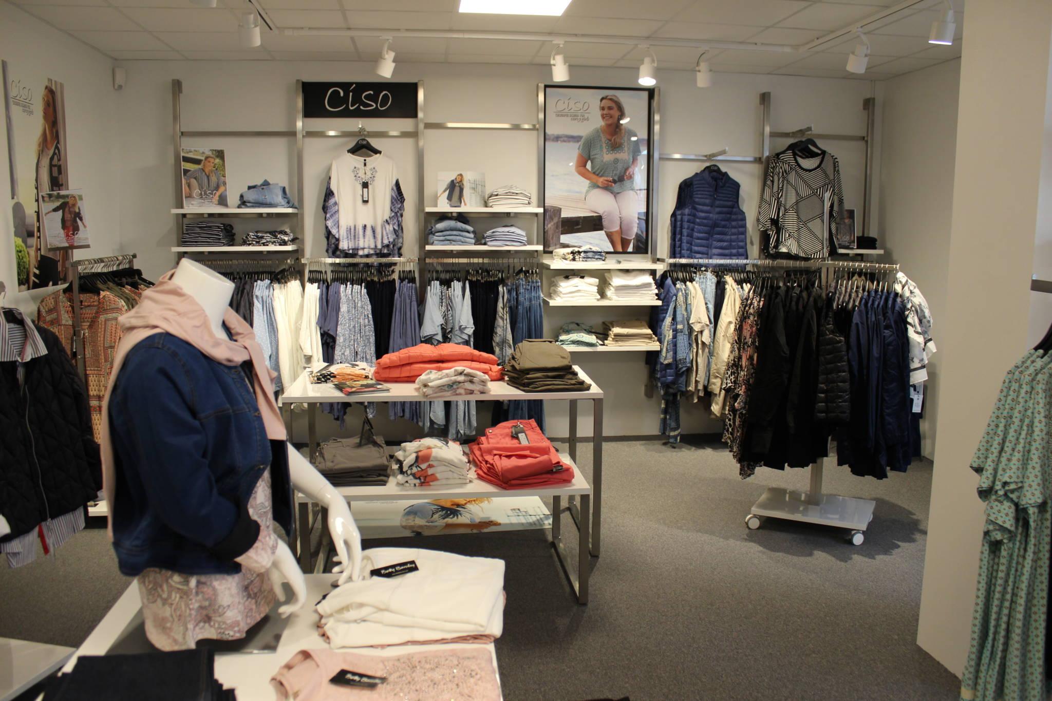 Ny butiksindretning i fleksibelt system