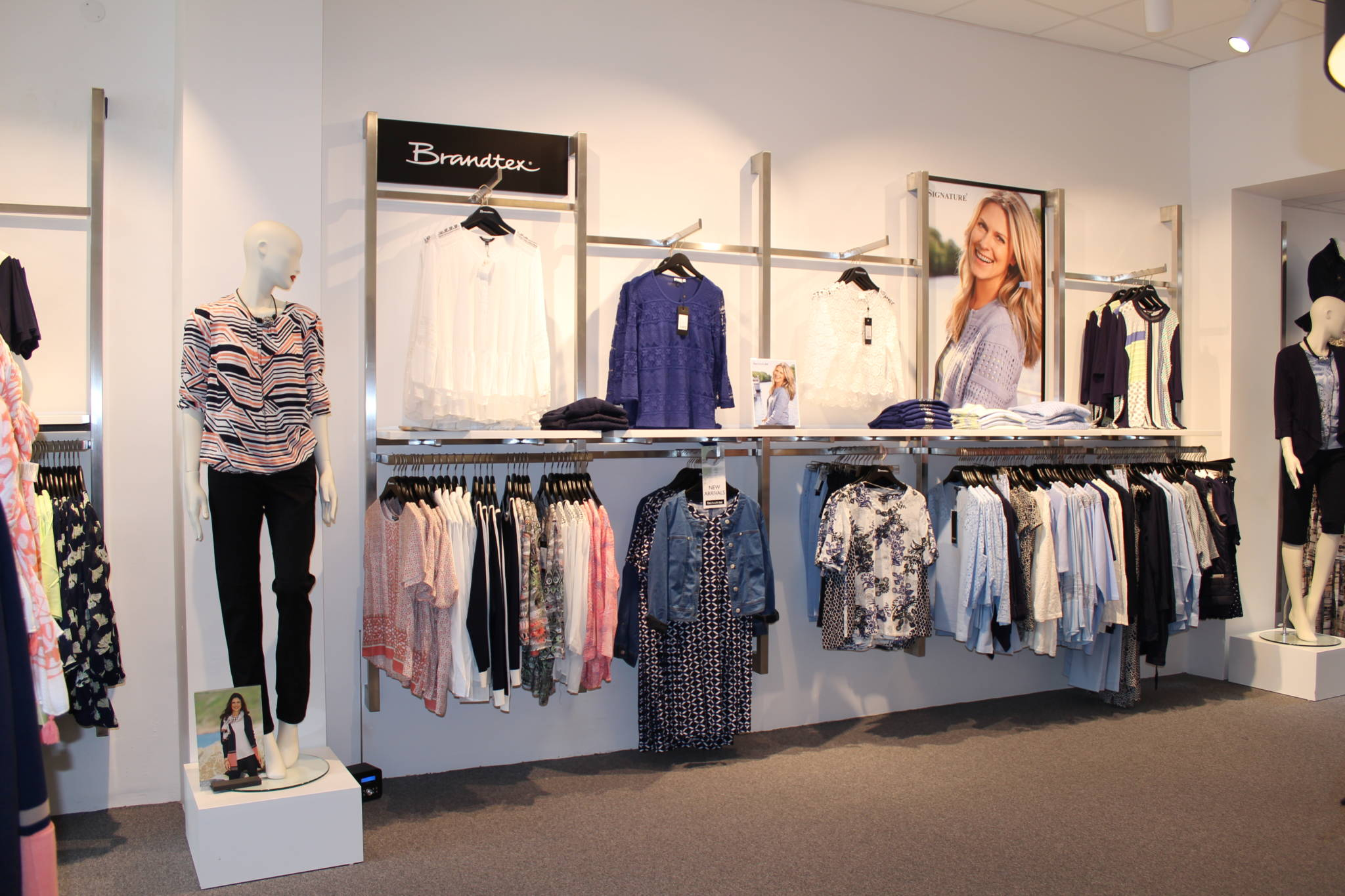 Ny butiksindretning med butiksinventar fra European Mannequins 6 Shop