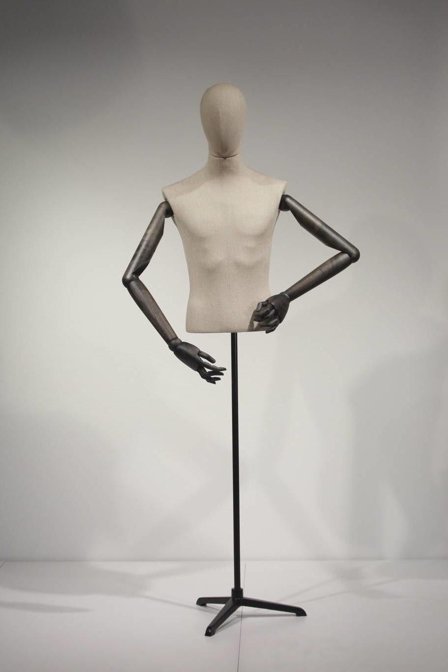 vintage torso kort herre