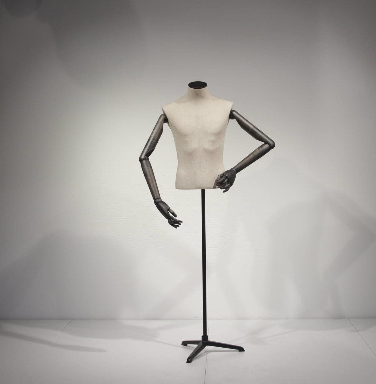 Herre vintage torso vist uden hoved