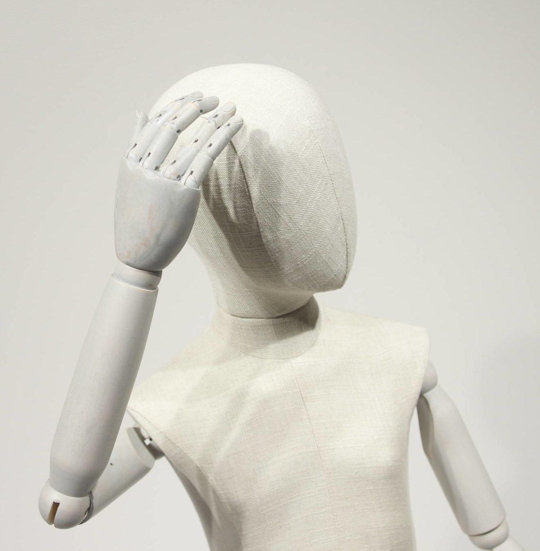 Vintage mannequin - børne model