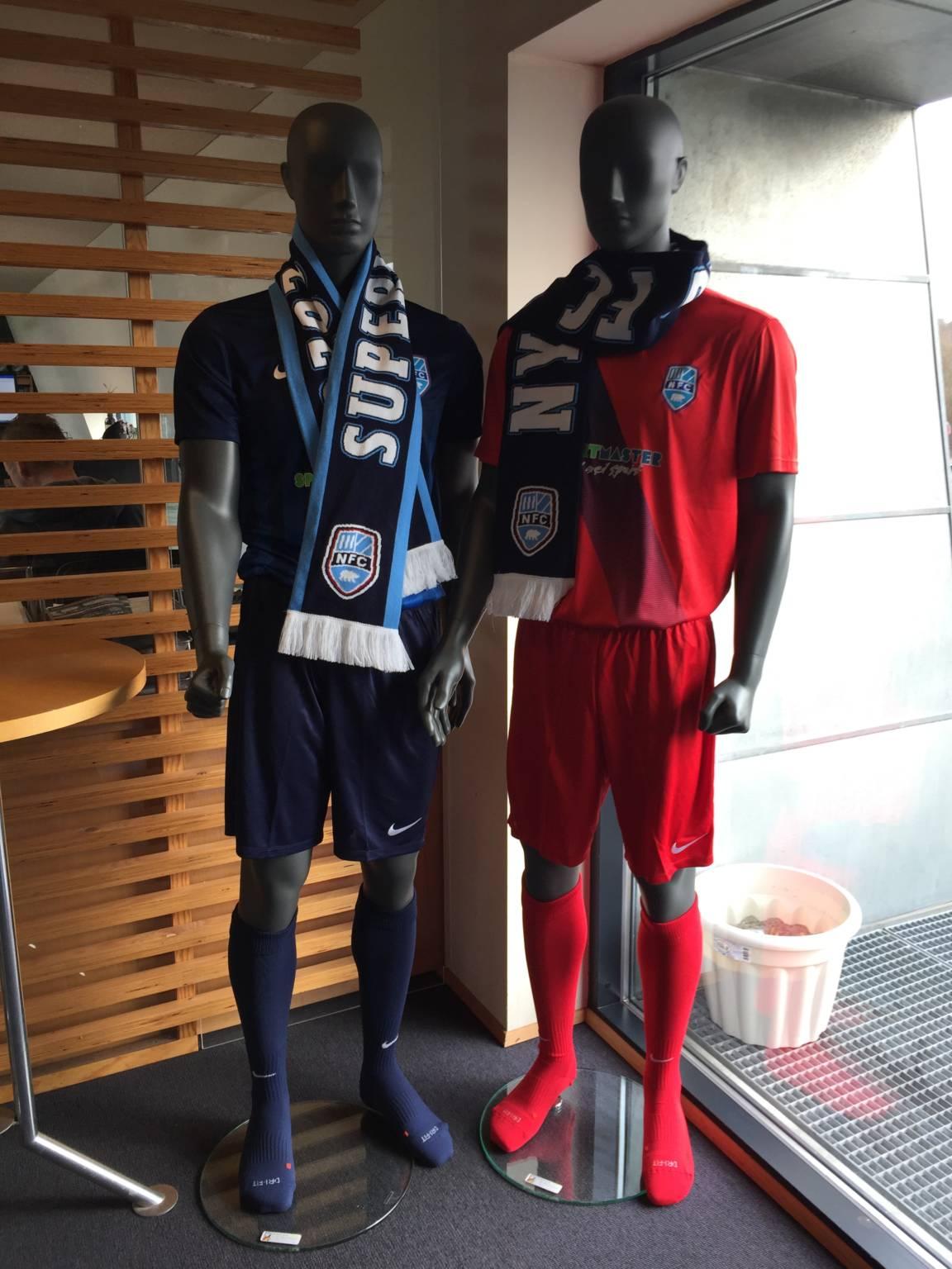 Nykøbing FC mannequiner