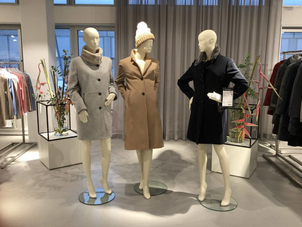 Beautiful mannequins used at the Copenahgen fashion fair