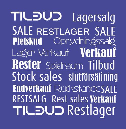 Tilbud / Restsalg