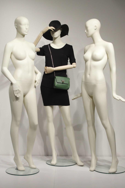 Flotte og stilfulde mannequiener til moden og nymoderne butik
