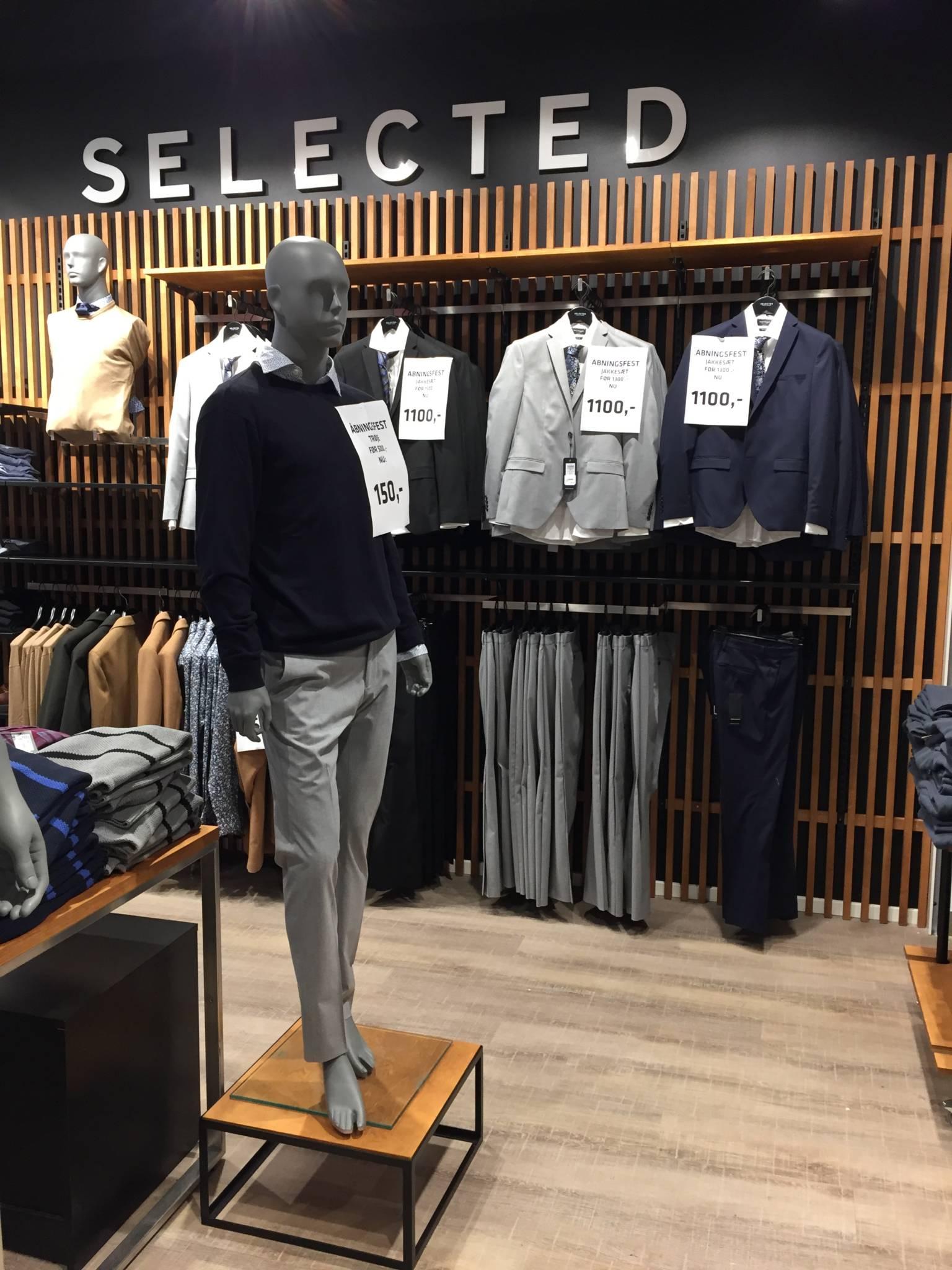 Theo mannequin serie i herrebutik.