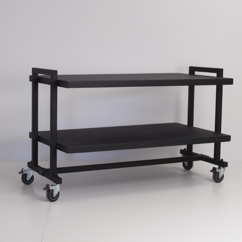 Gadebord med 2 plader