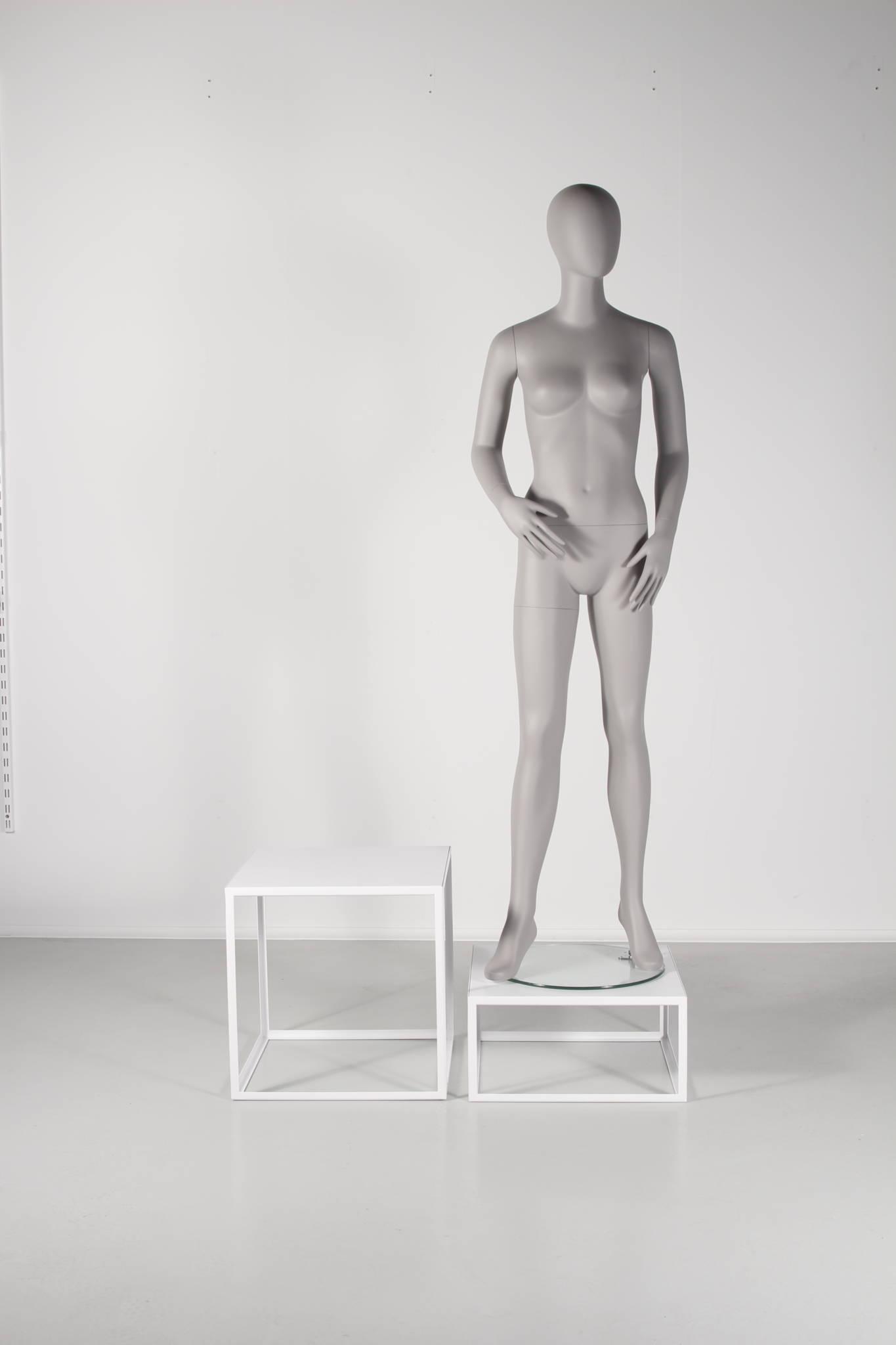 mannequin podie som kan leveres i mange forskellige farver