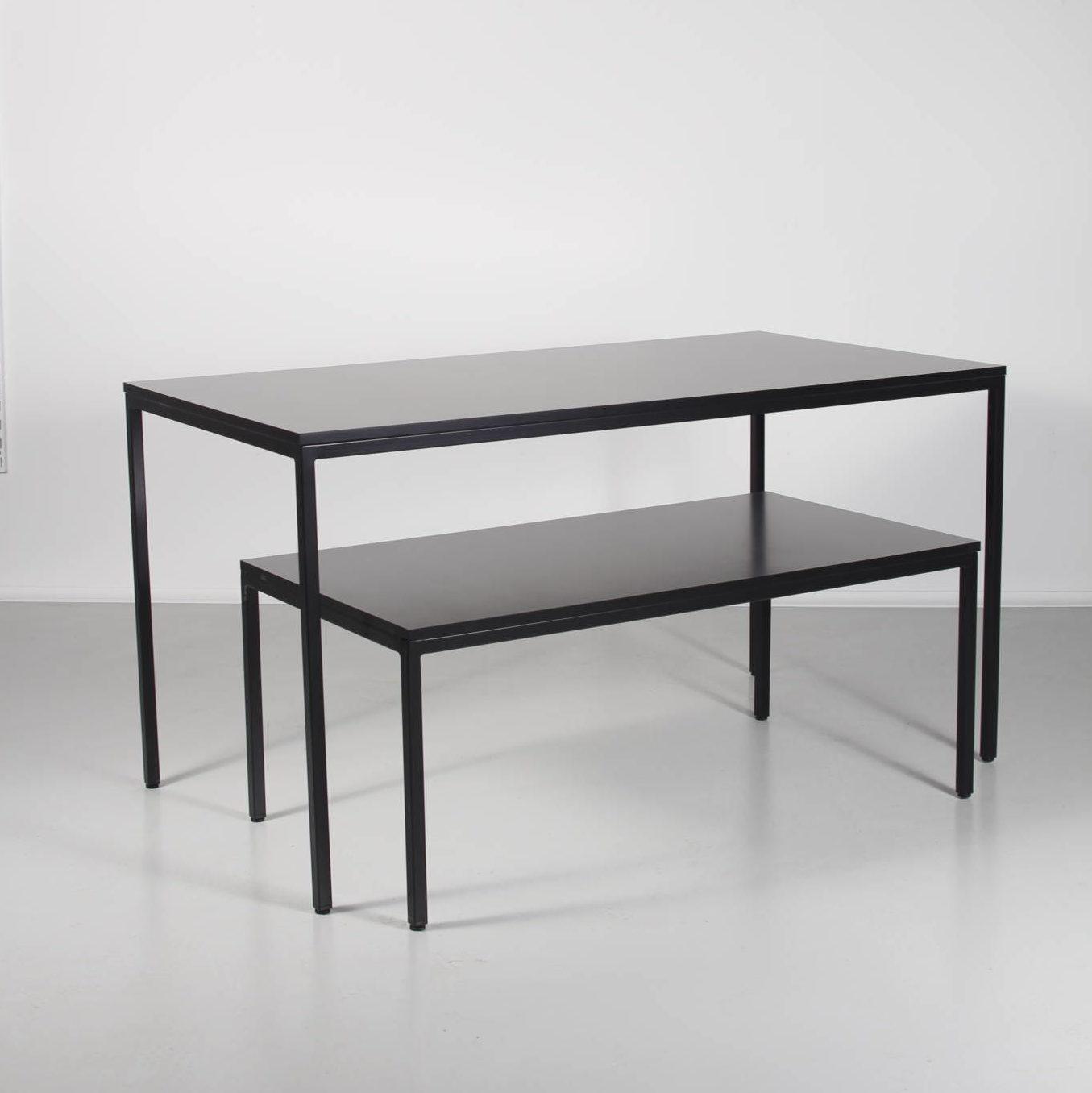 Salgsborde billigt i hvid eller sort