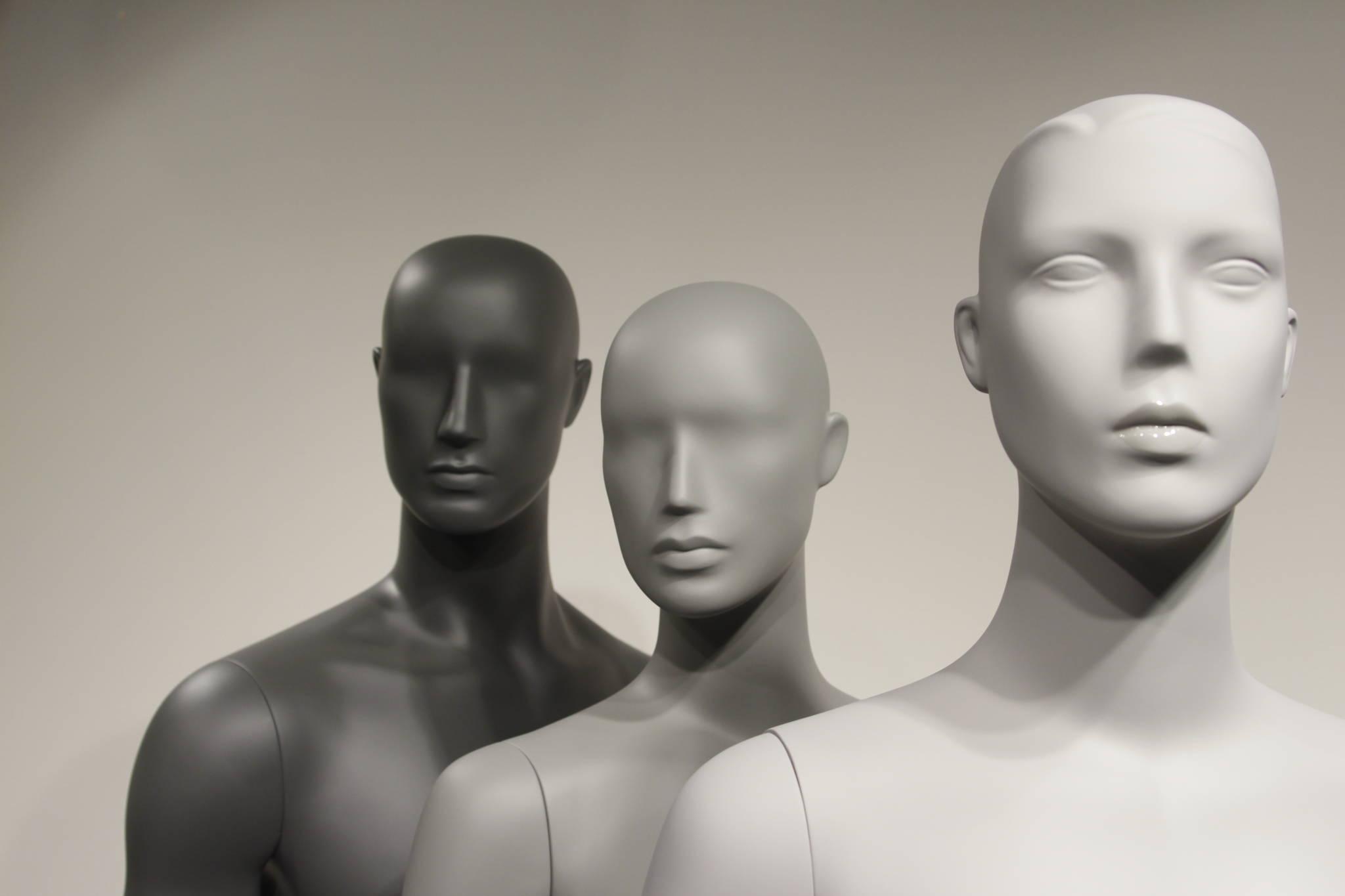 omlakering af mannequiner