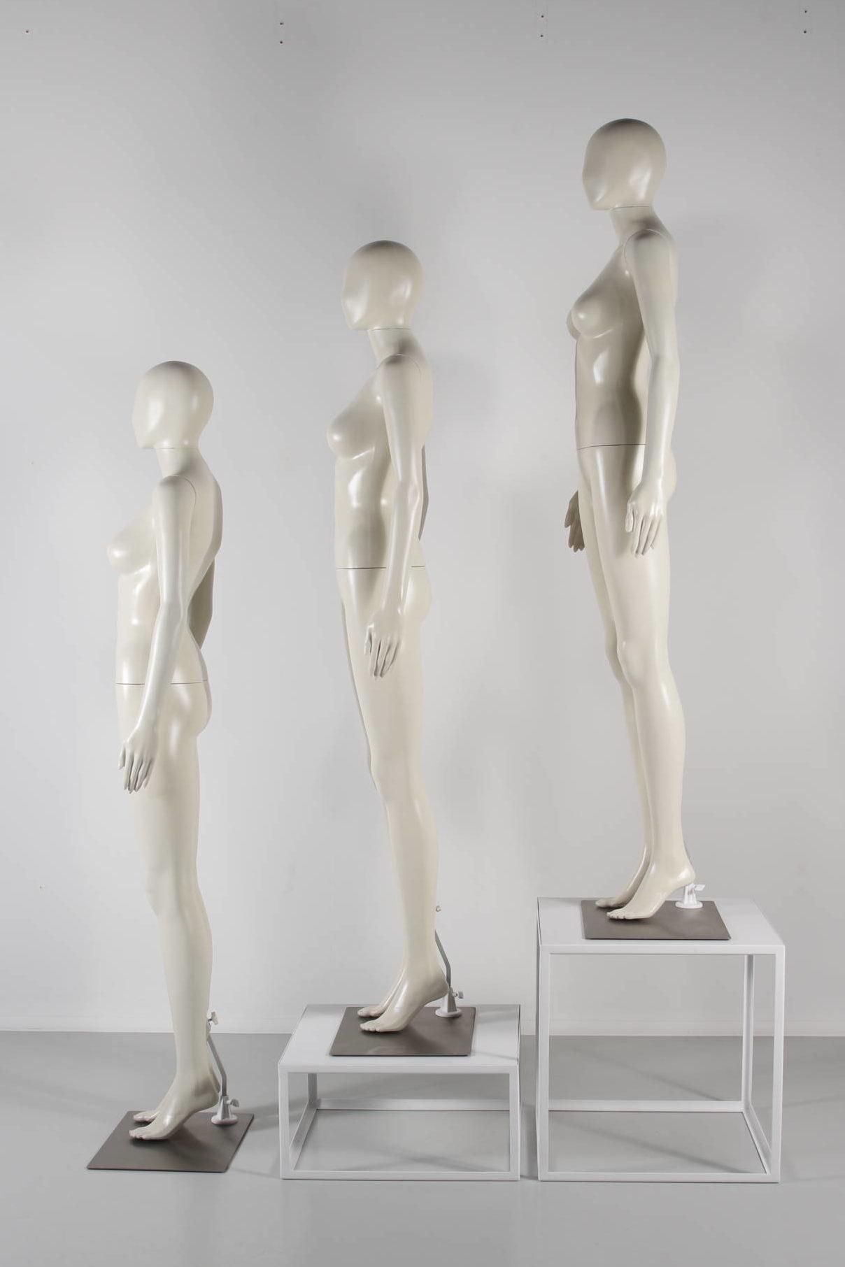billige dame mannequiner i ivory farve