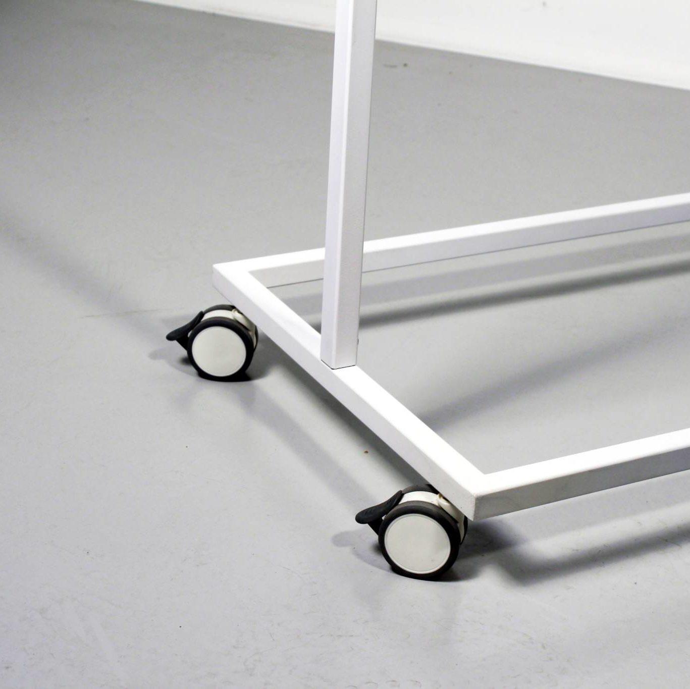 Hjulsæt til design stativ kollektionen fra European Mannequins & Retail Design