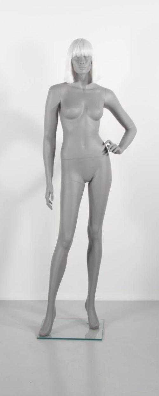 billg grå dame mannequin