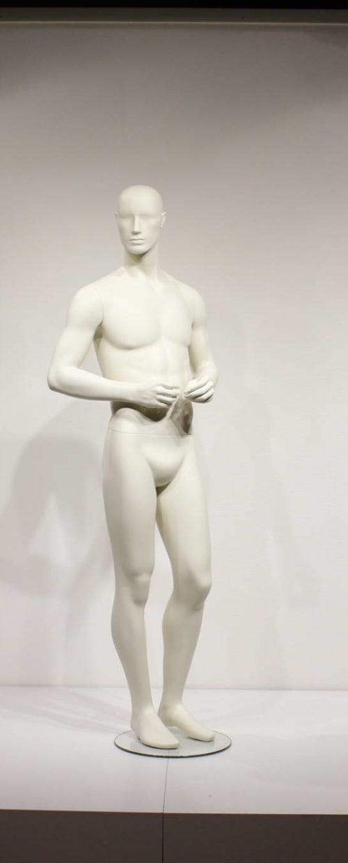 Flot abstrakt herre mannequin
