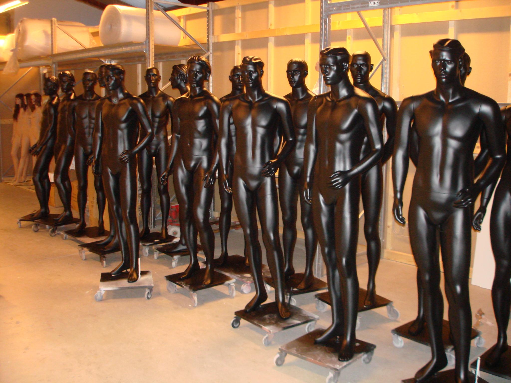 European Mannquins instandsætter mannequiner