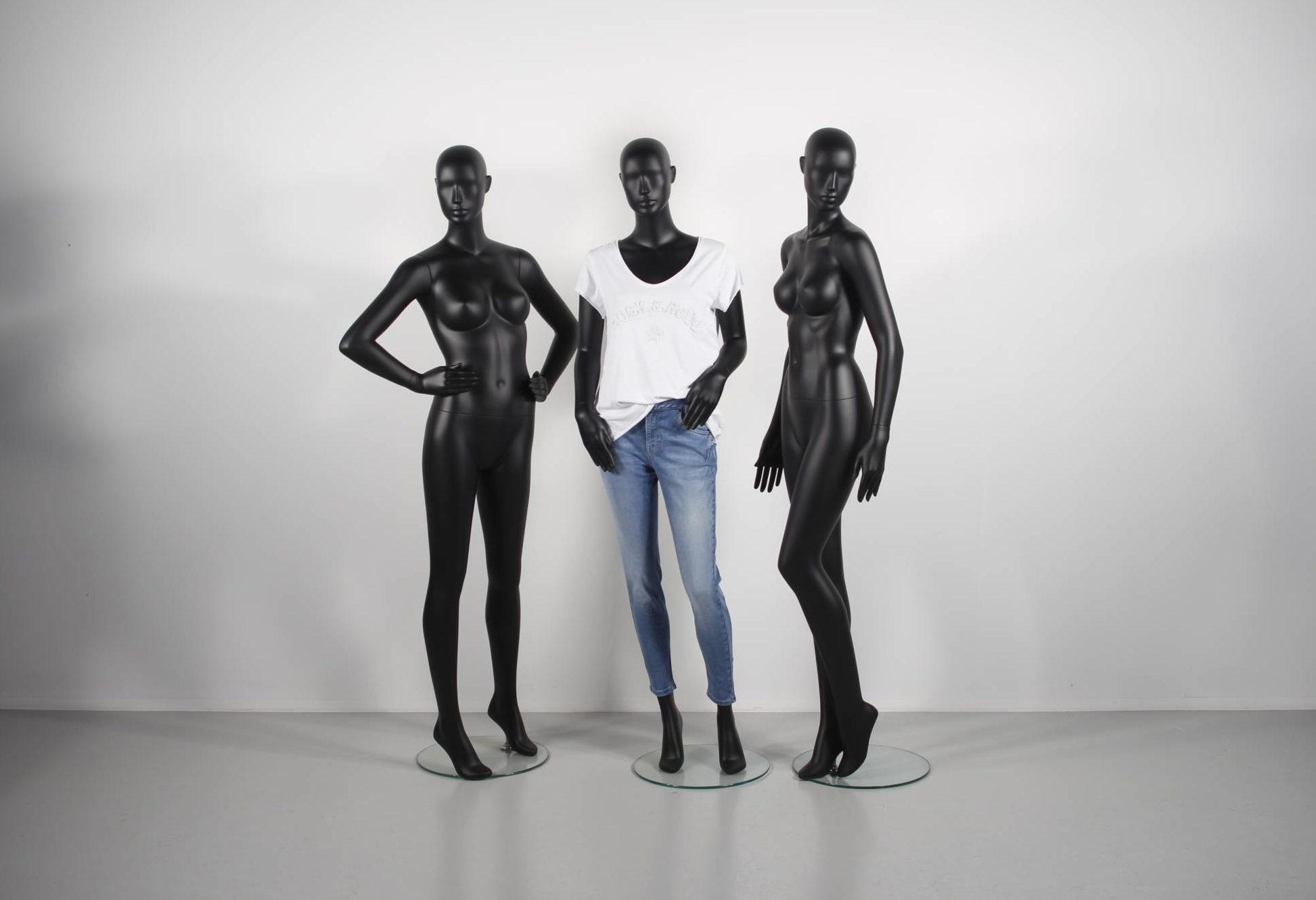 Dame mannequiner. Kollektion af bedste design