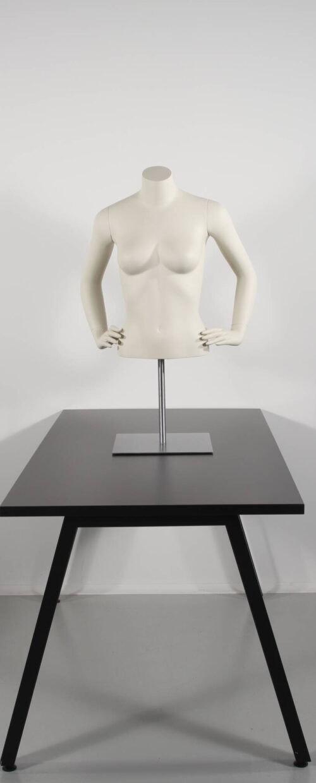 Stilfuld kort dame torso