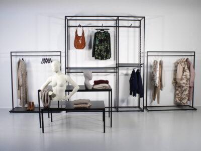 Shop in shop inventar til tøjbutik