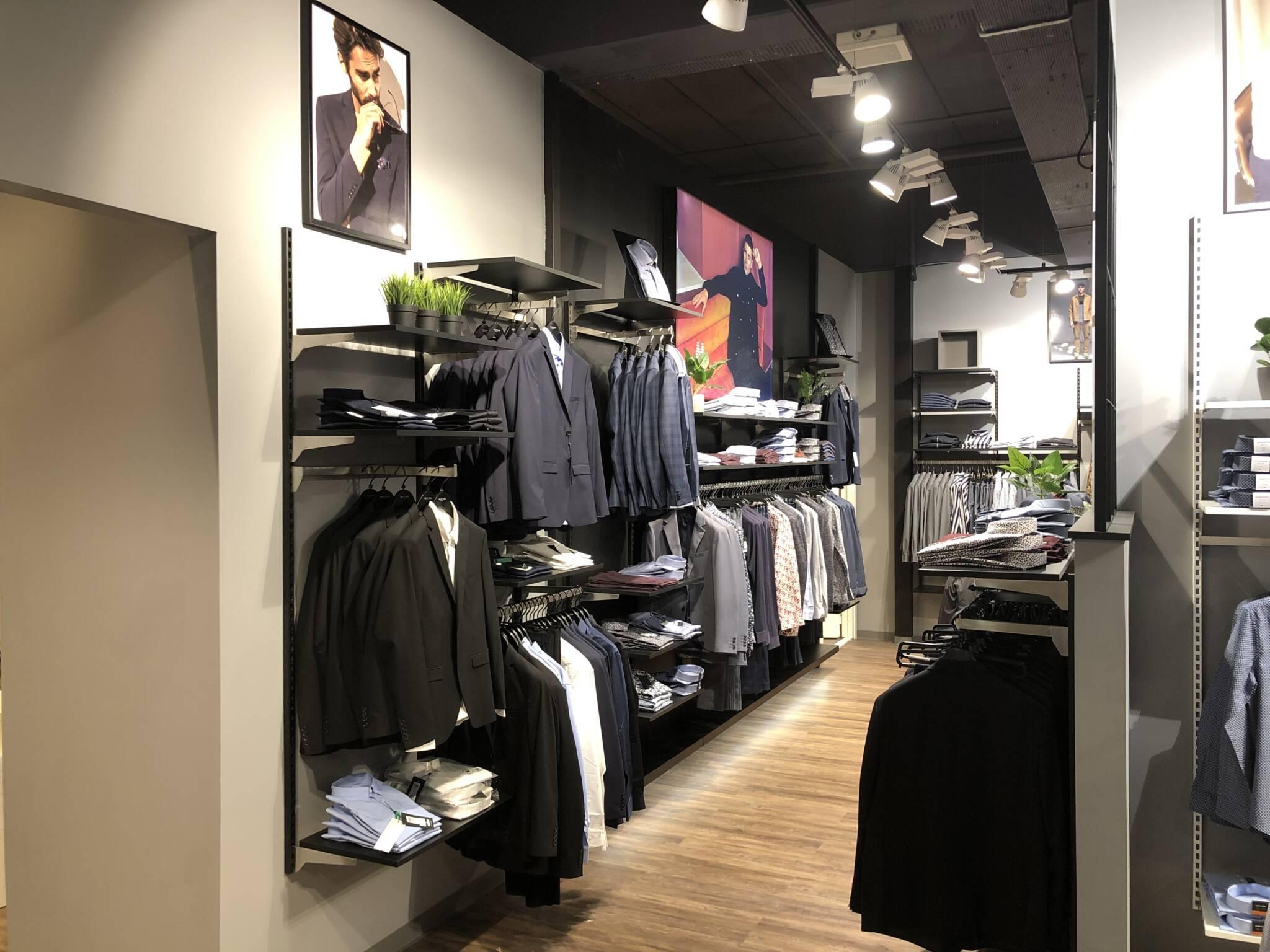 butiksindretning og butiksinventar