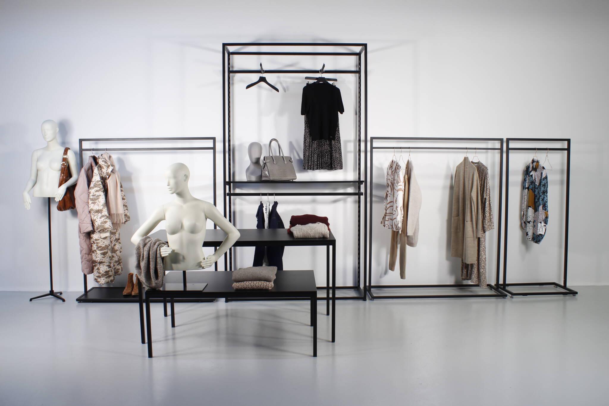 Shop in shop butiksinventar - lækker og billig løsning.