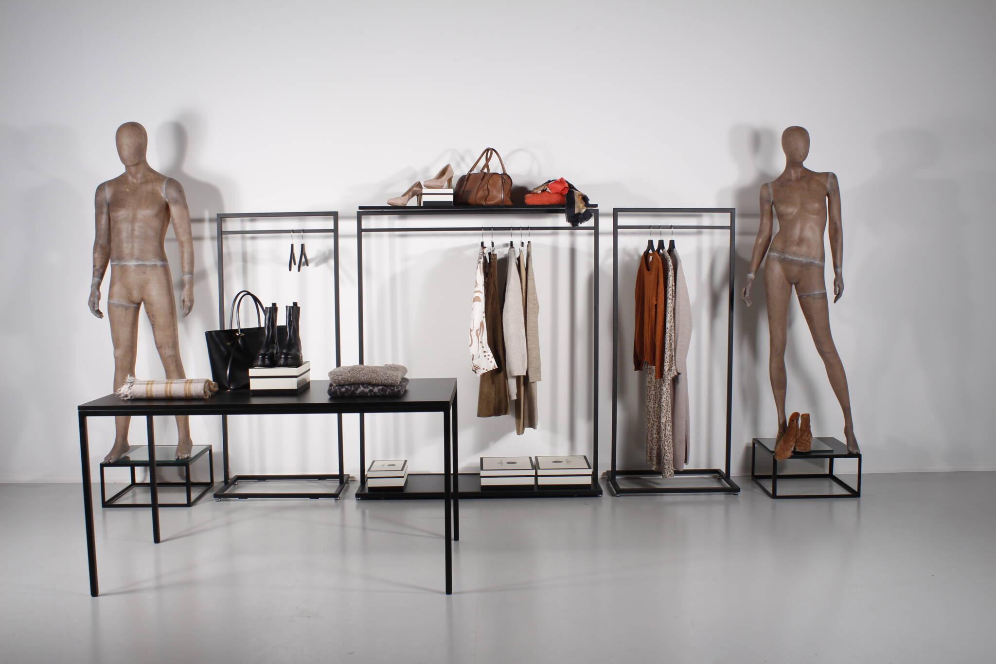Billige tøjstativer i flot design