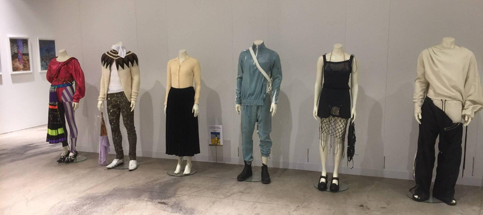 Mannequiner fra European Mannequins brugt til præsentation af nye designs.