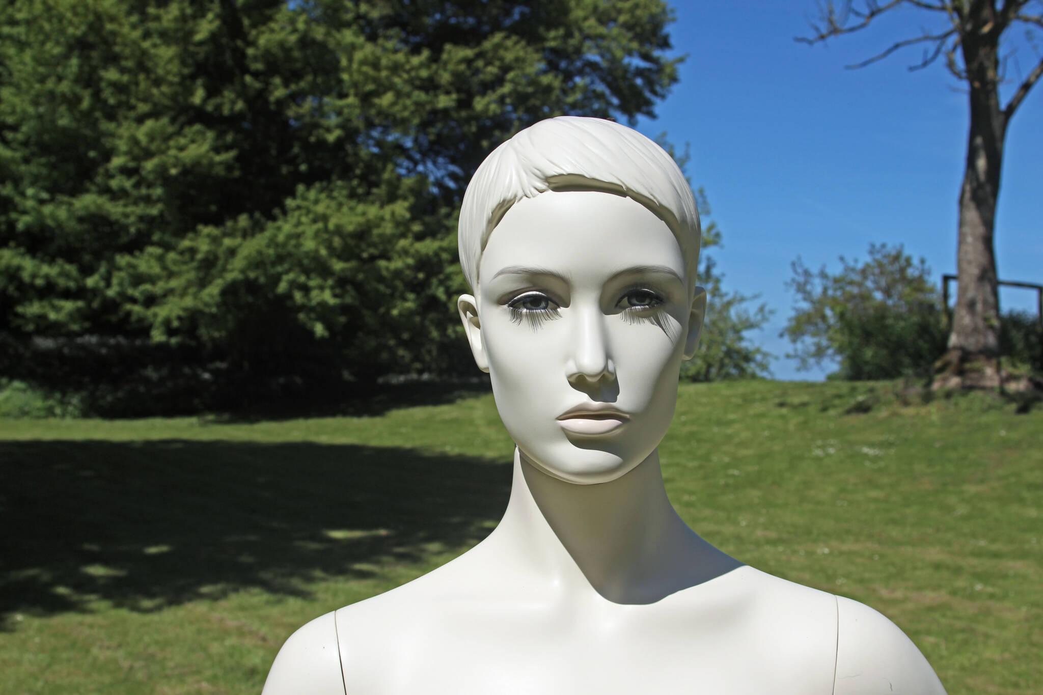 Stilistisk mannequin m makeup