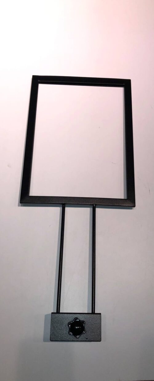A4 skilteholder til Gadebord