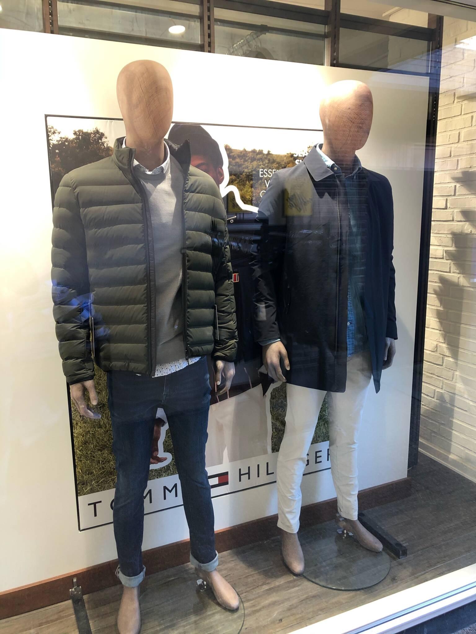 Udstilling med bæredygtige mannequiner