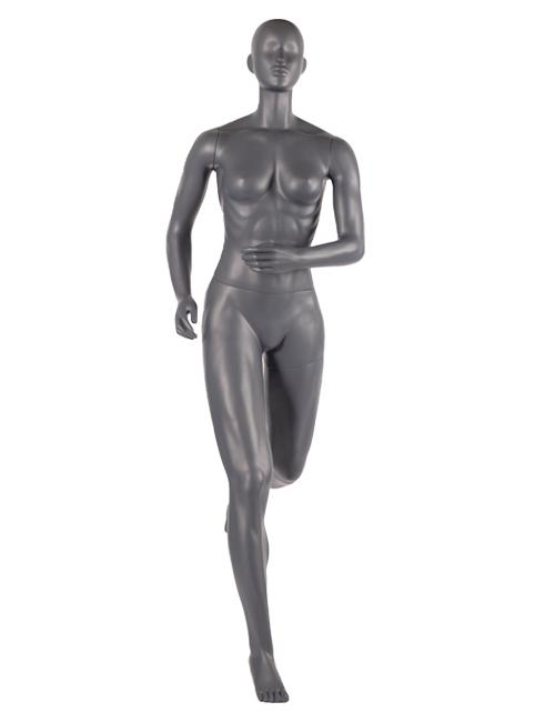 løbende dame mannequin. Sports mannquin
