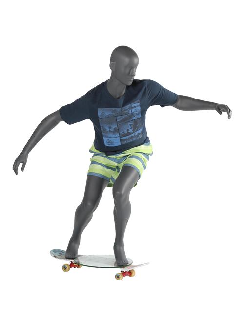 Skater mannequin. Sportsmannequin - herre model