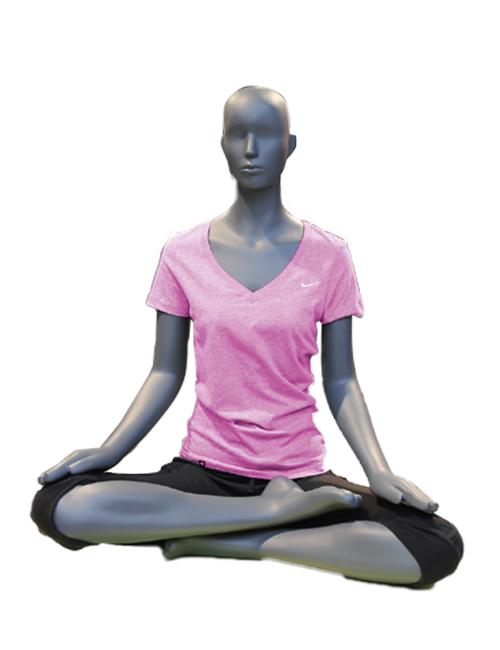Sportsmannequin yoga/gymnastik dame mannequin