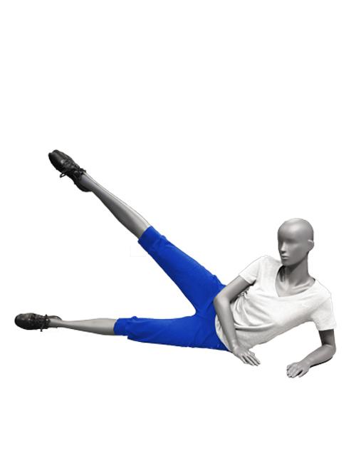 Workout mannequin. Sportsmannequin
