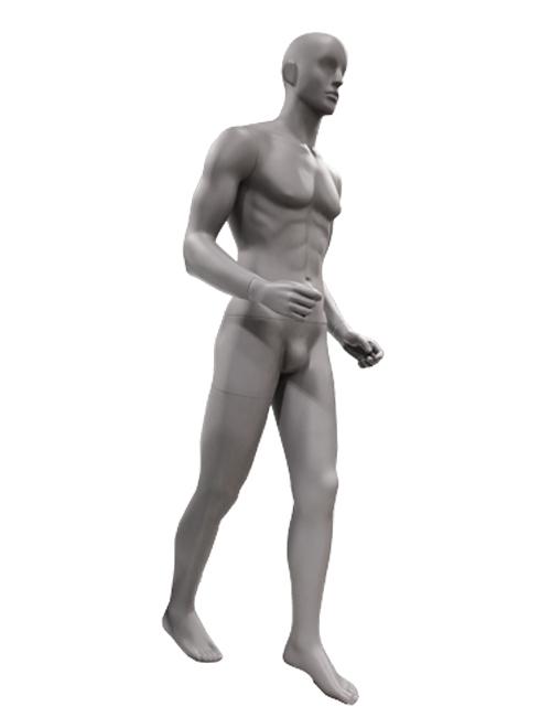 gående herre sportsmannequin