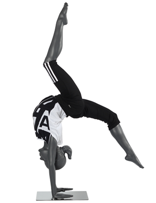 Gymnastik pige. Sports mannequin